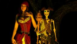 Pirate Jessica porn game gameplay